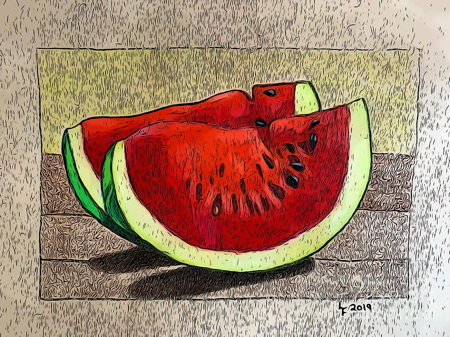Watermelon by Laura Forde