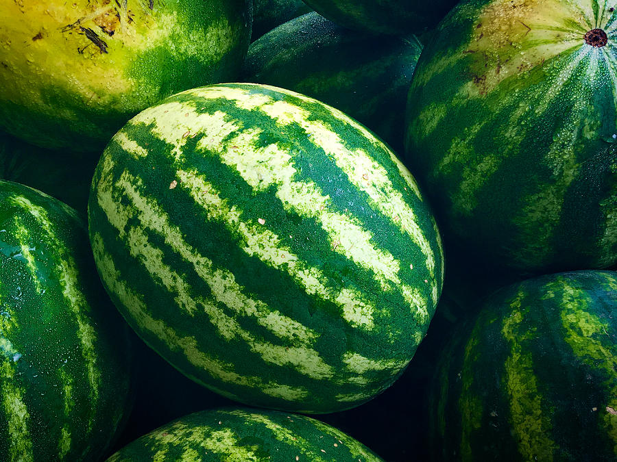 Watermelons by Nathan Little