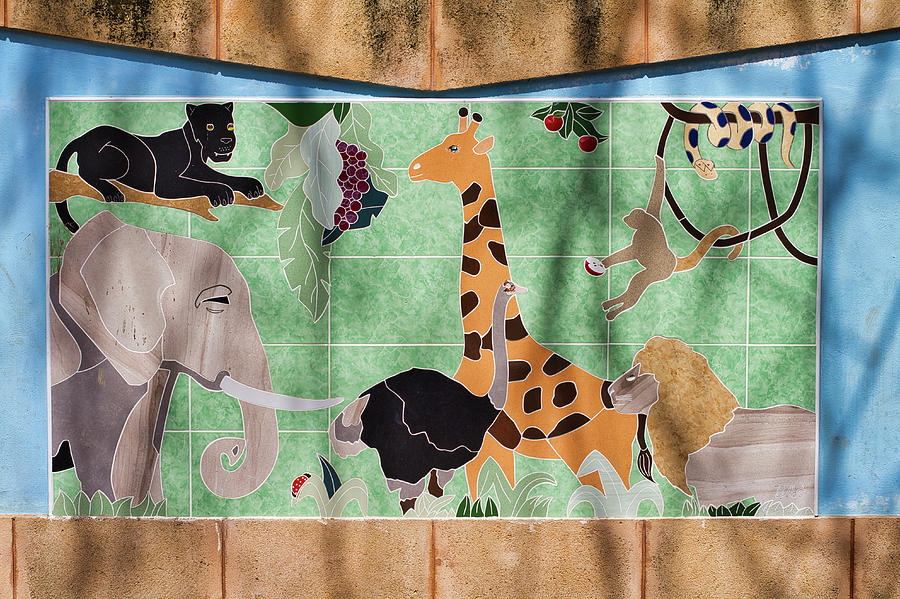 Watkin Park Africa Mural by Paul Rebmann