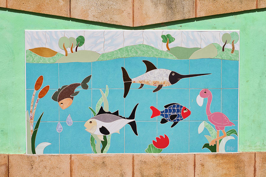 Watkin Park Fish Mural by Paul Rebmann