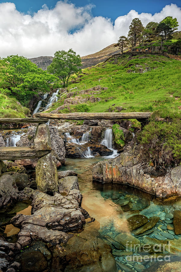 Watkin Path Bridge Wales by Adrian Evans