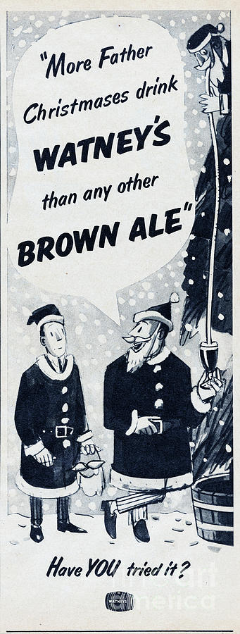Watneys Brown Ale Photograph by Picture Post