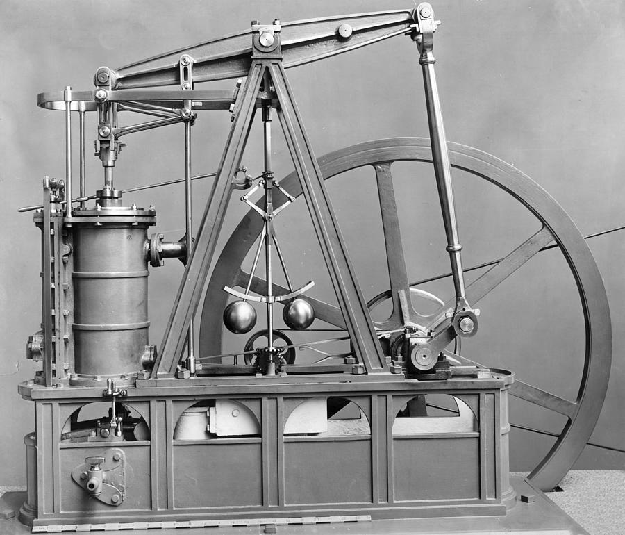 Watts Engine Photograph by Hulton Archive