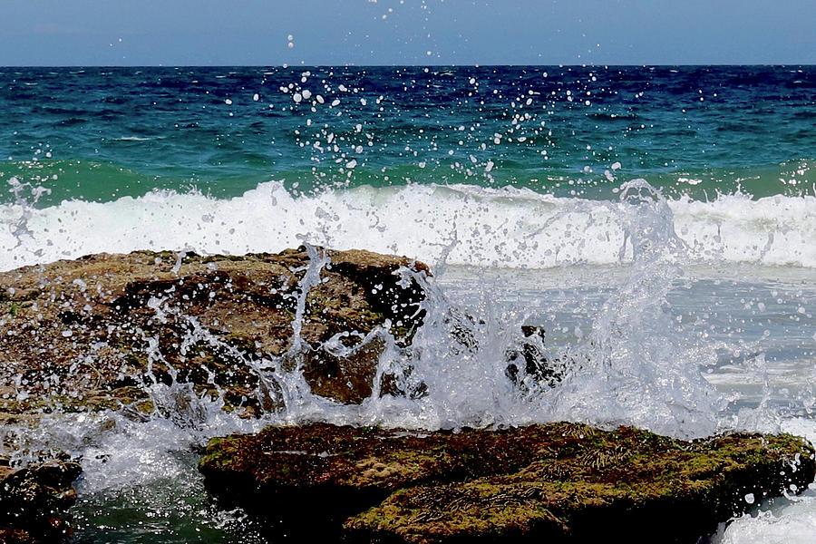 Wave Spray by Sarah Lilja