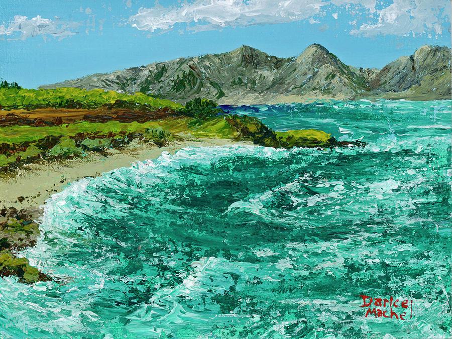 Waves At Hookipa by Darice Machel McGuire