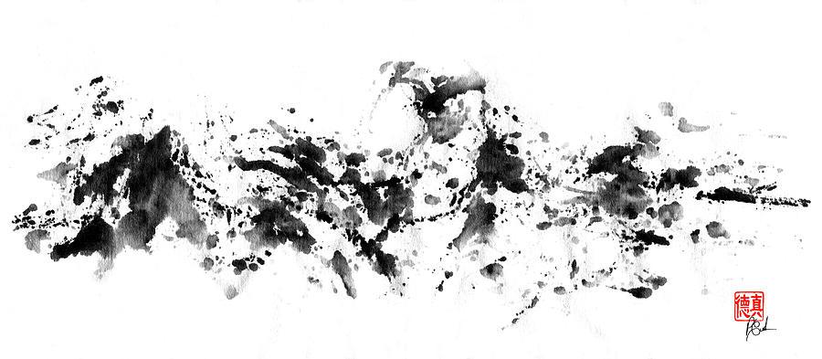 Waves Crashing by Peter Cutler