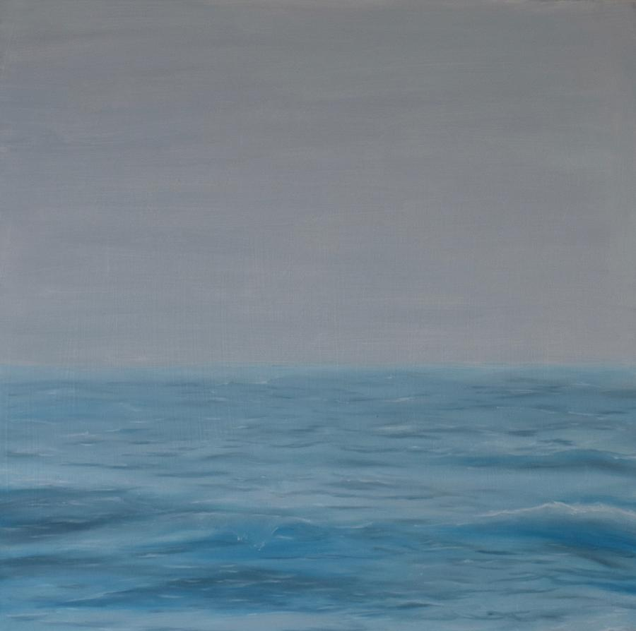 Waves Painting - Waves by Emily Warren