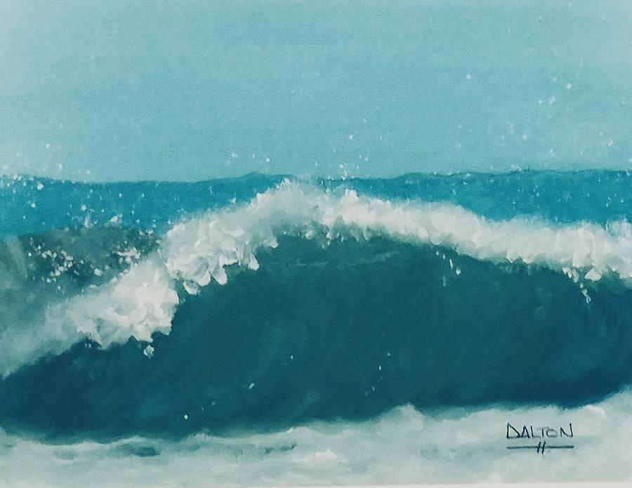 Sea Painting - Waves by George Dalton