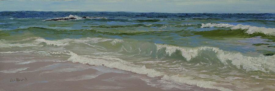 Waves of Clear Water by Lea Novak