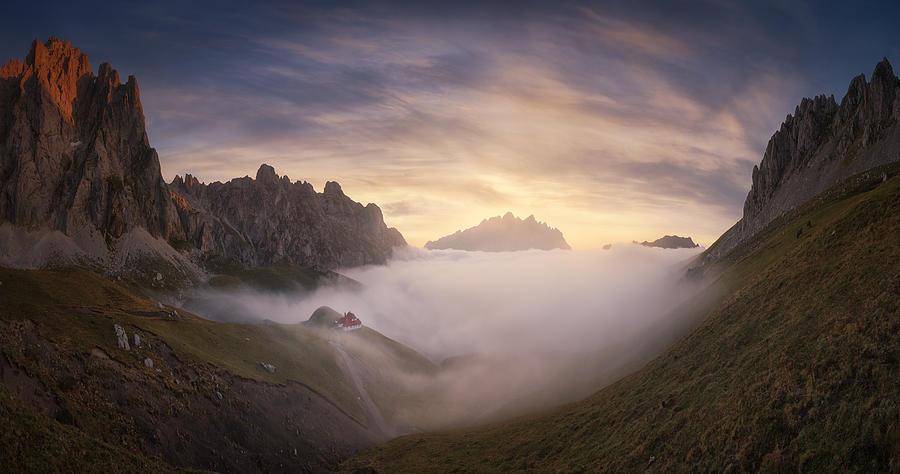 Way To Aliva Photograph by Carlos F. Turienzo