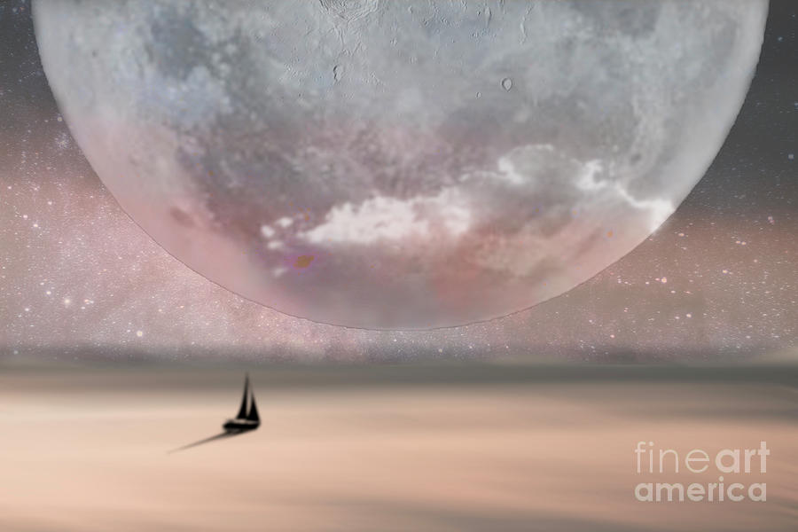Way to the Moon by Hal Halli