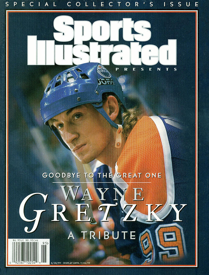 Wayne Gretzky Goodbye To The Great One, A Tribute Sports Illustrated Cover Photograph by Sports Illustrated
