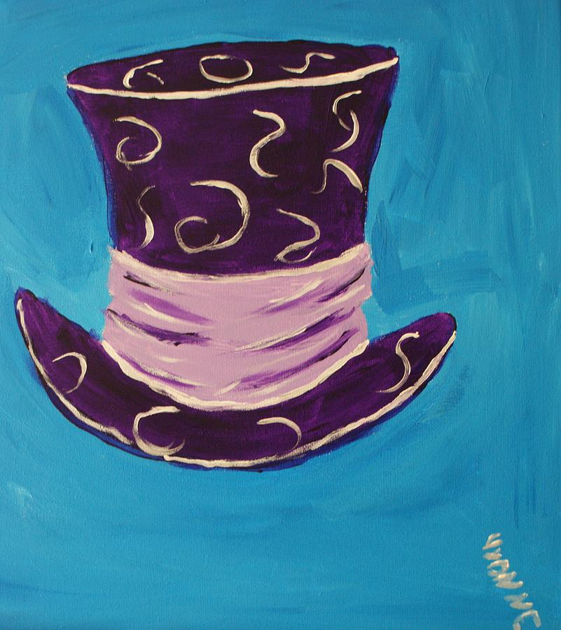 Madhatter Painting - We Are All Mad by Yvonne Sewell