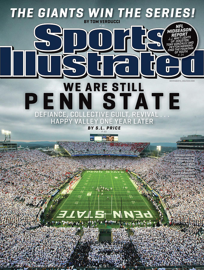 We Are Still Penn State Sports Illustrated Cover Photograph by Sports Illustrated
