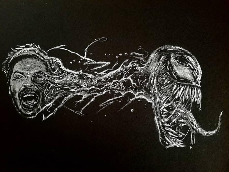 We Are Venom Drawing By Kenneth Byrd Iii