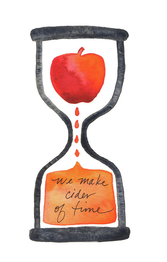 We make cider of time by Anna Elkins