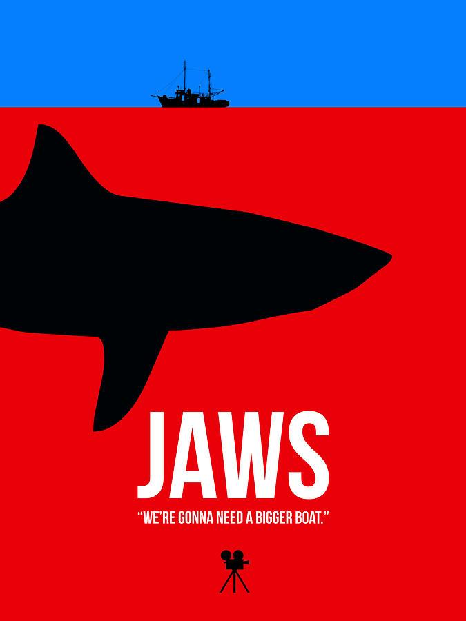 Jaws Digital Art - We Need A Bigger Boat by Naxart Studio