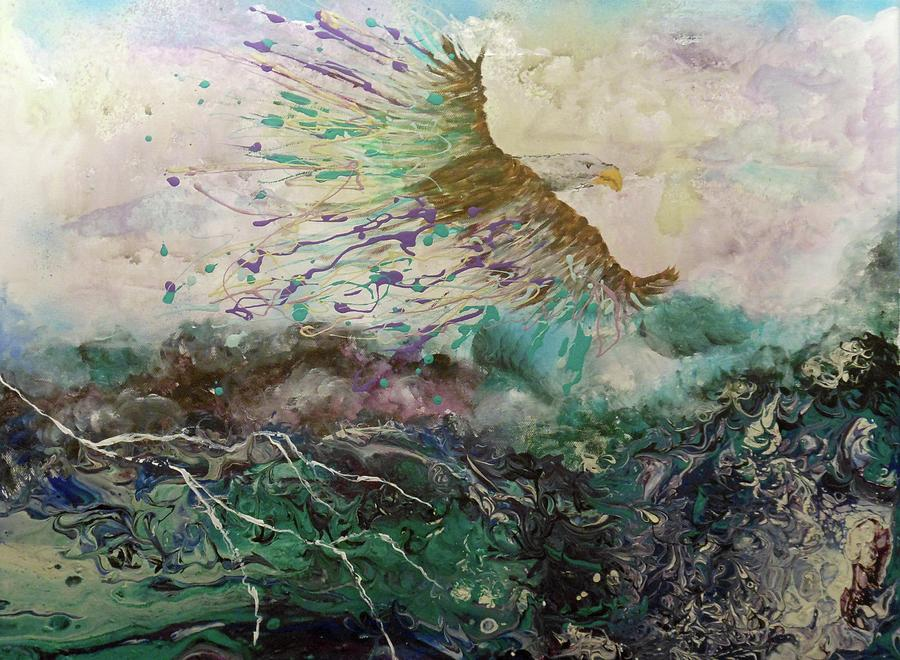 We Rise Above Our Storms by Pam Halliburton