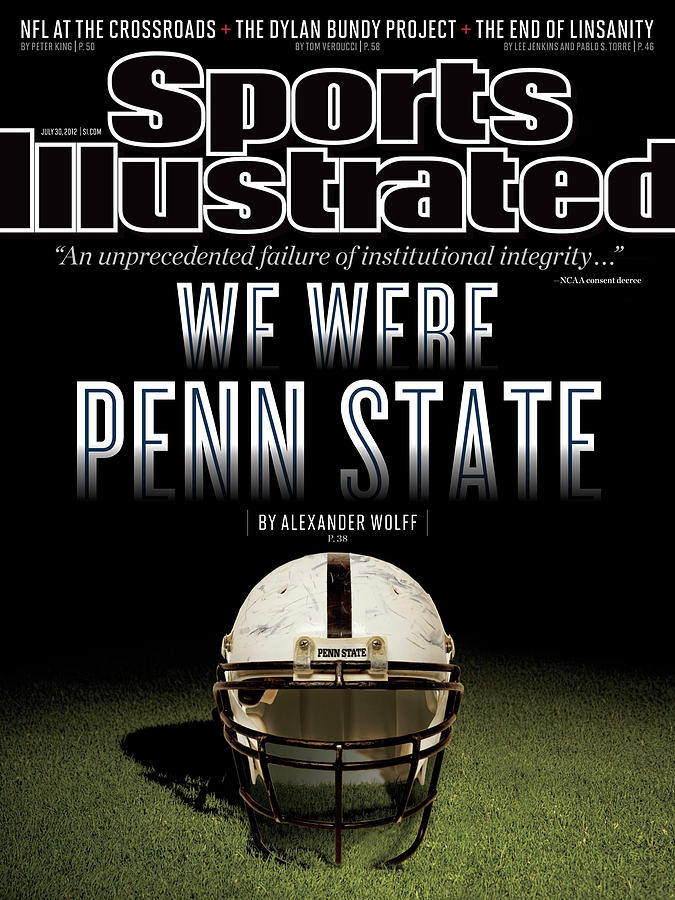 We Were Penn State Sports Illustrated Cover Photograph by Sports Illustrated