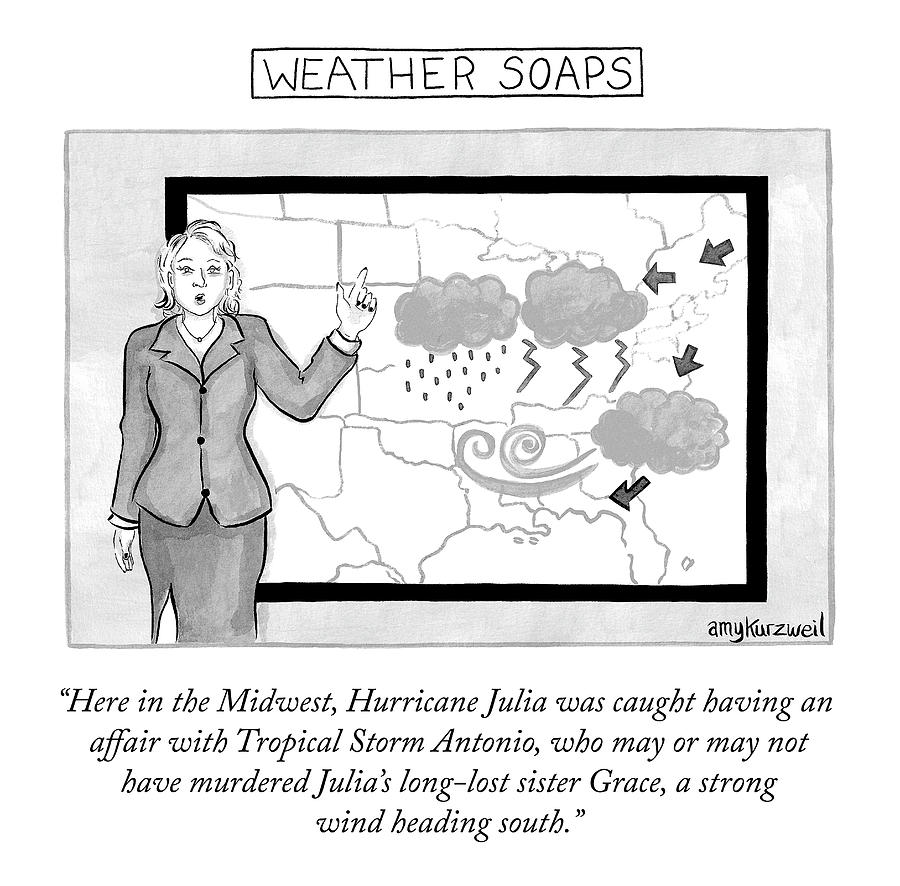 Weather Soaps Drawing by Amy Kurzweil