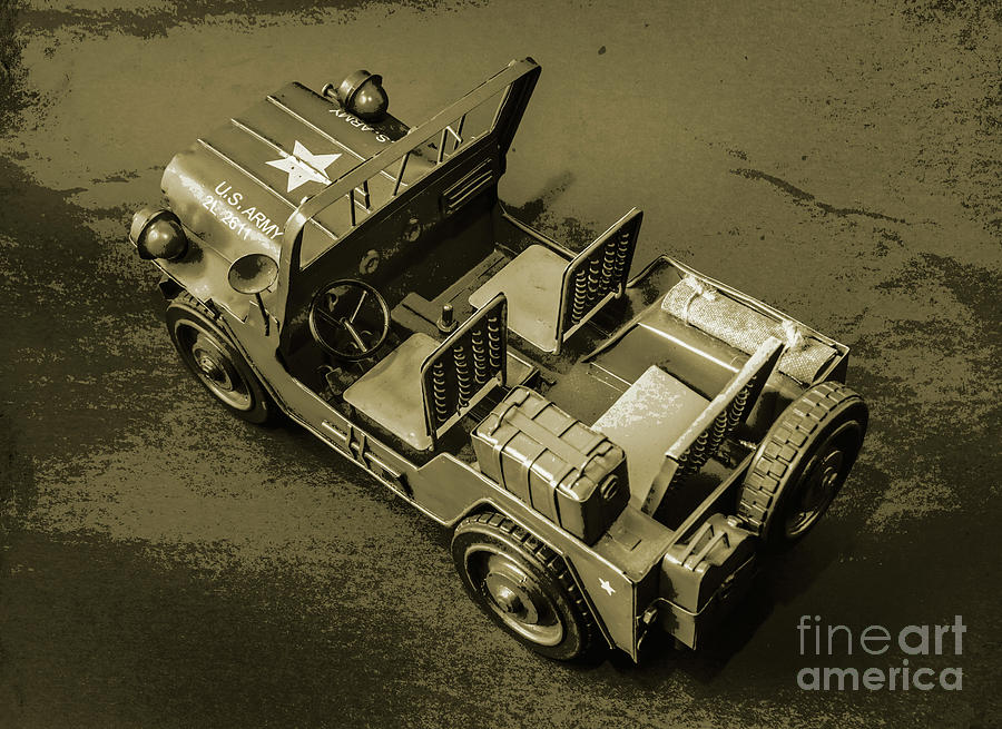 Vintage Photograph - Weathered Defender by Jorgo Photography - Wall Art Gallery