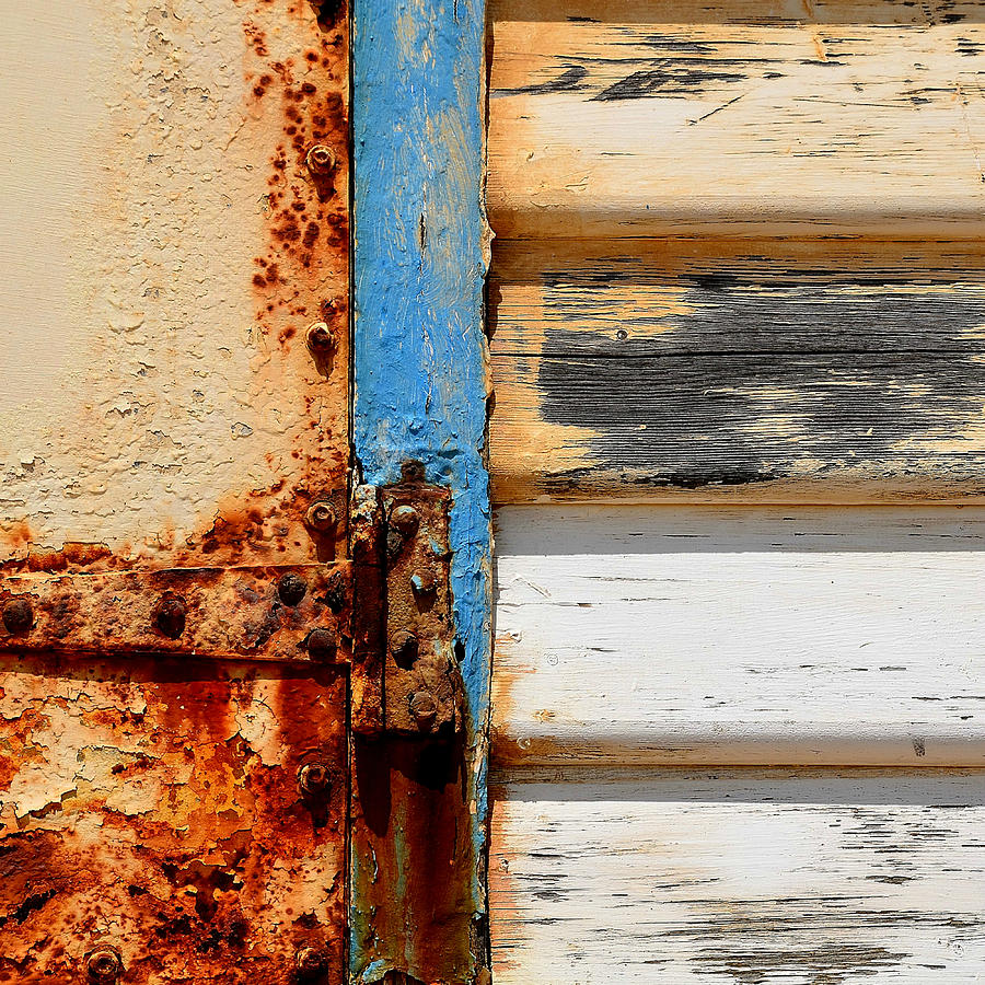 Abstract Photography Photograph - Weathered by Sabina DAntonio