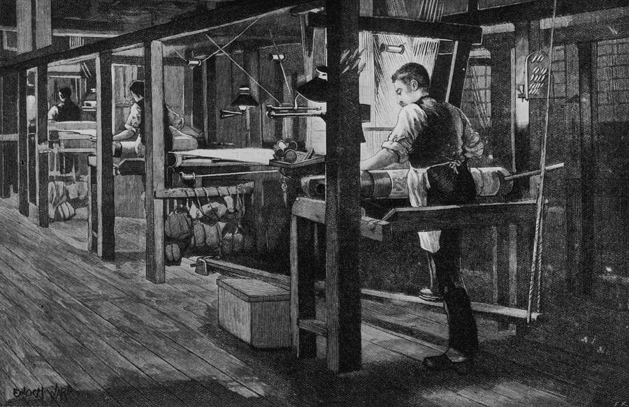 Weaver At Warners Photograph by Hulton Archive