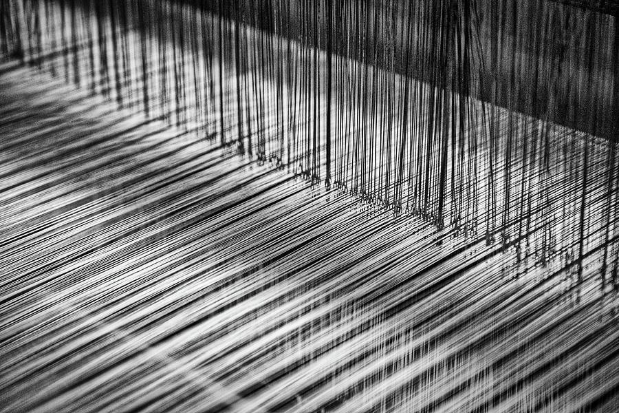 Weaving Loom - Morocco by Stuart Litoff