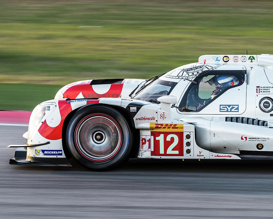 WEC #12 - Rebellion Racing by Dave Wilson