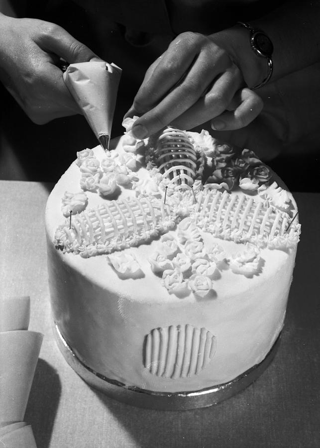 Wedding Cake Photograph by Chaloner Woods