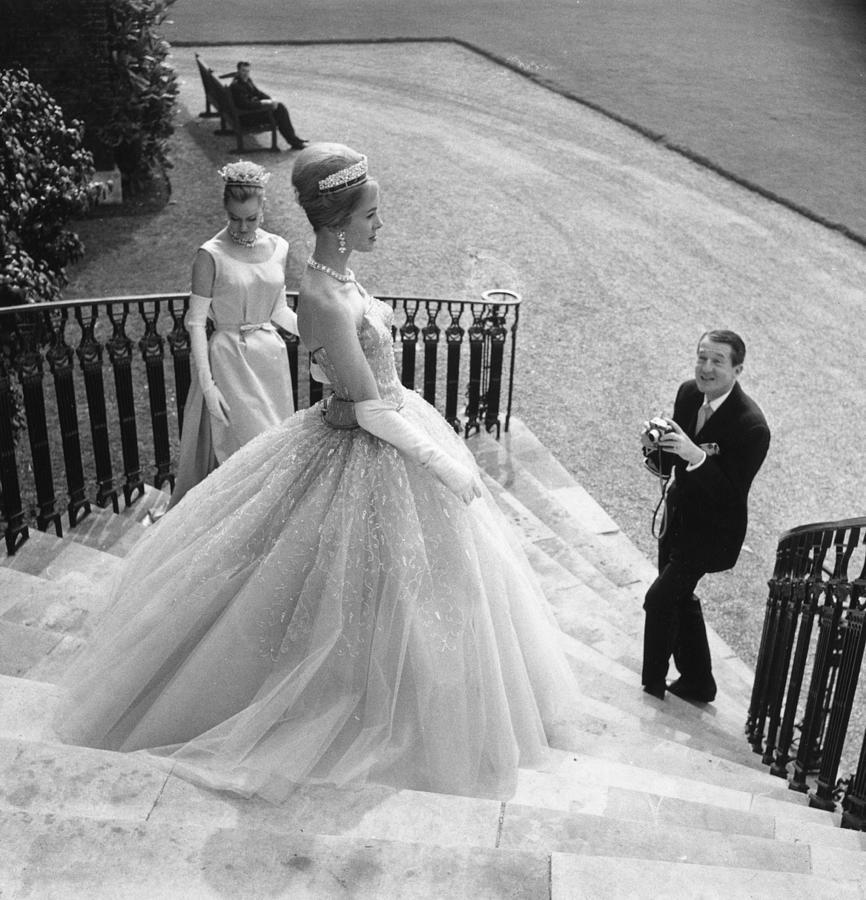 Wedding Dress Photograph by Evening Standard