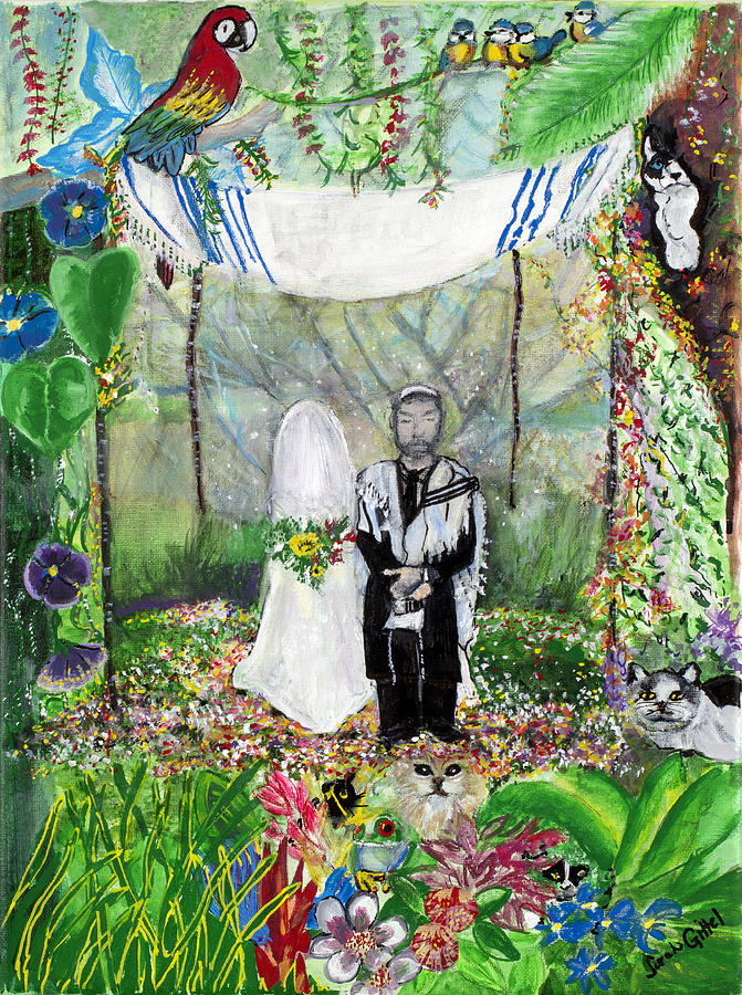 Wedding in the jungle by Sarah Gittel