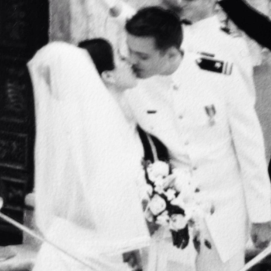 wedding kiss by Cherylene Henderson