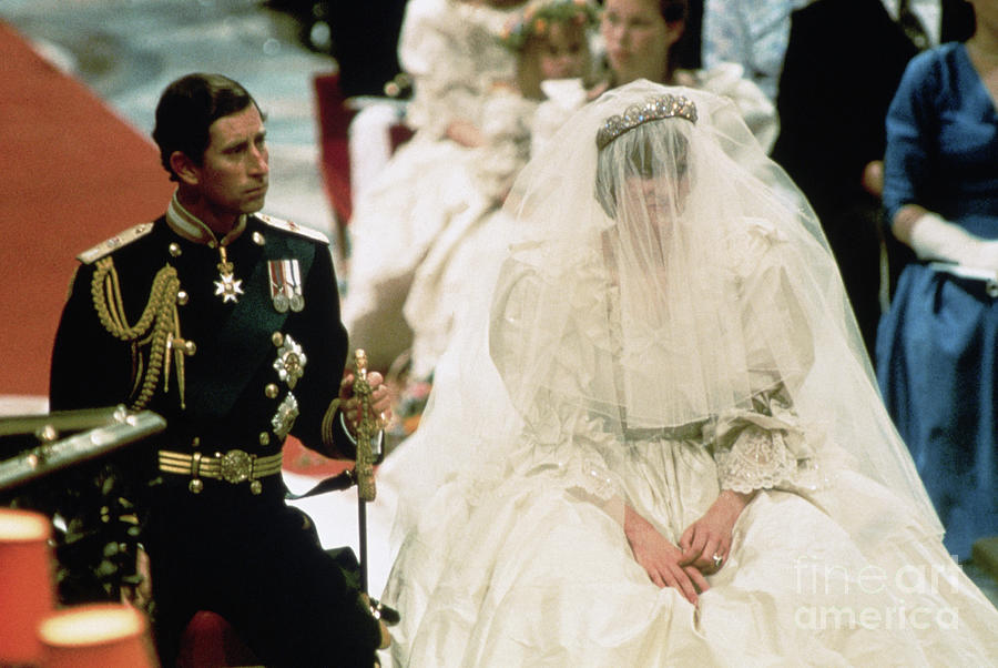 Wedding Of Prince Charles And Lady Diana Photograph by Bettmann