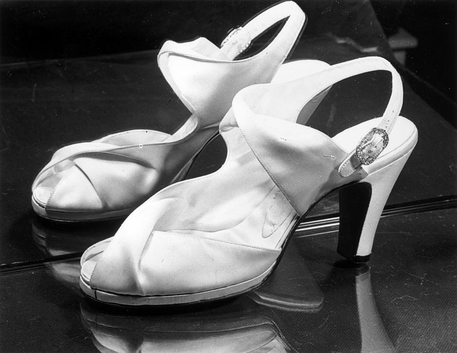 Wedding Sandals Photograph by Arthur Tanner