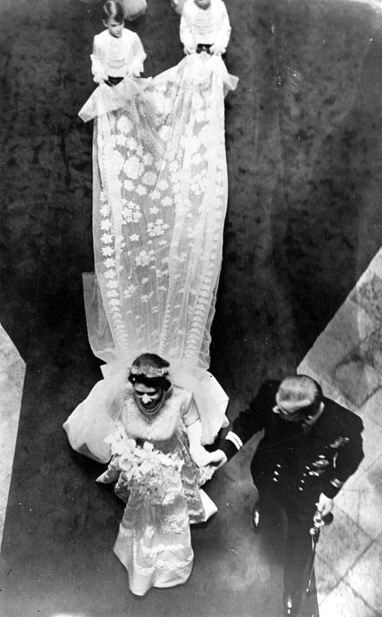 Wedding Train Photograph by Keystone