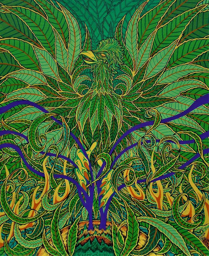 Weed phoenix by SAM HANE