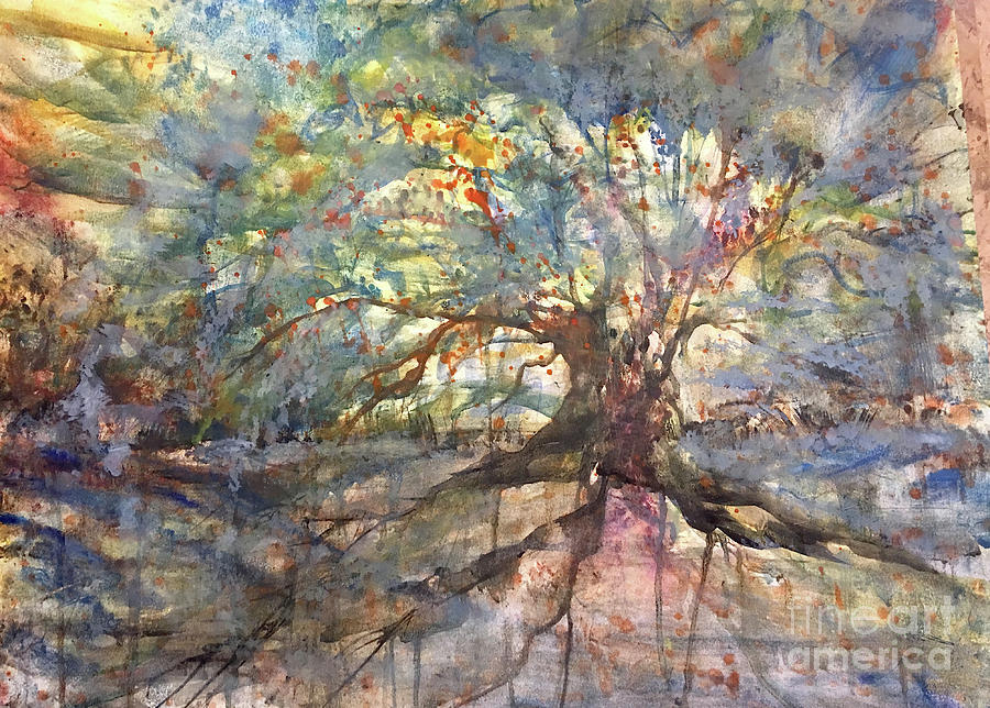 Weeping Oak by Francelle Theriot