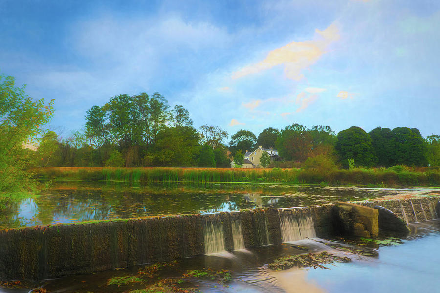Wehrs Dam - Impressionism by Jason Fink