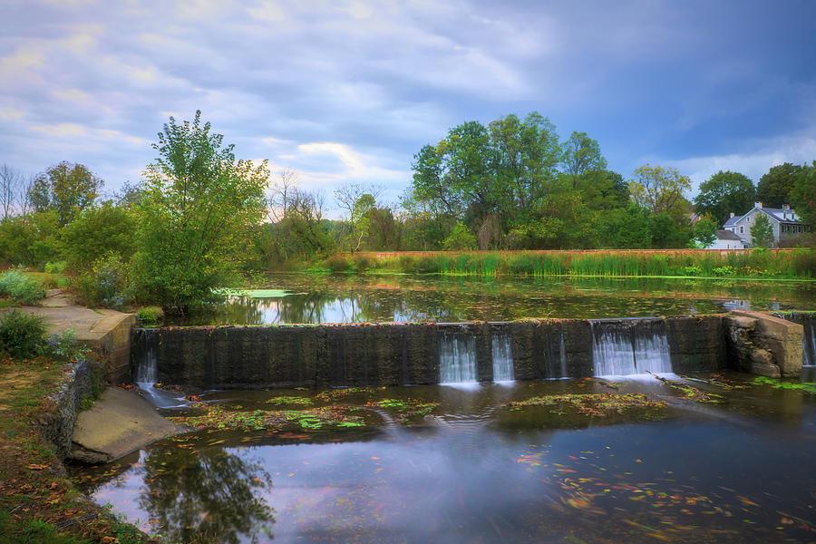 Wehrs Dam October by Jason Fink