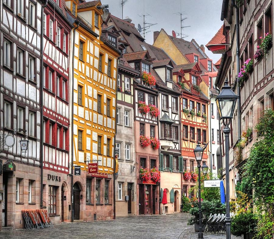 Weissgerbergasse, Nuremberg Photograph by Habub3