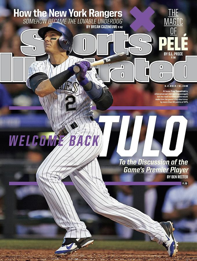 Welcome Back Tulo, To The Discussion Of The Games Premier Sports Illustrated Cover Photograph by Sports Illustrated