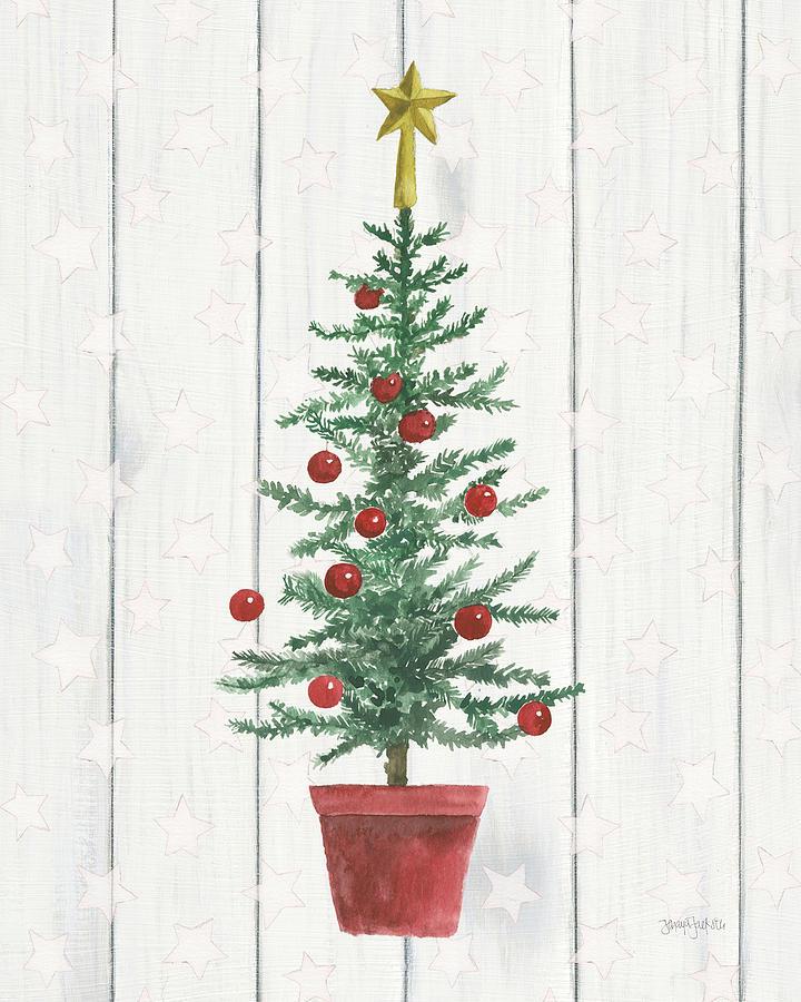 Christmas Painting - Welcome Christmas Iv by Jenaya Jackson