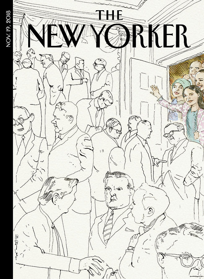 Welcome To Congress Drawing by Barry Blitt