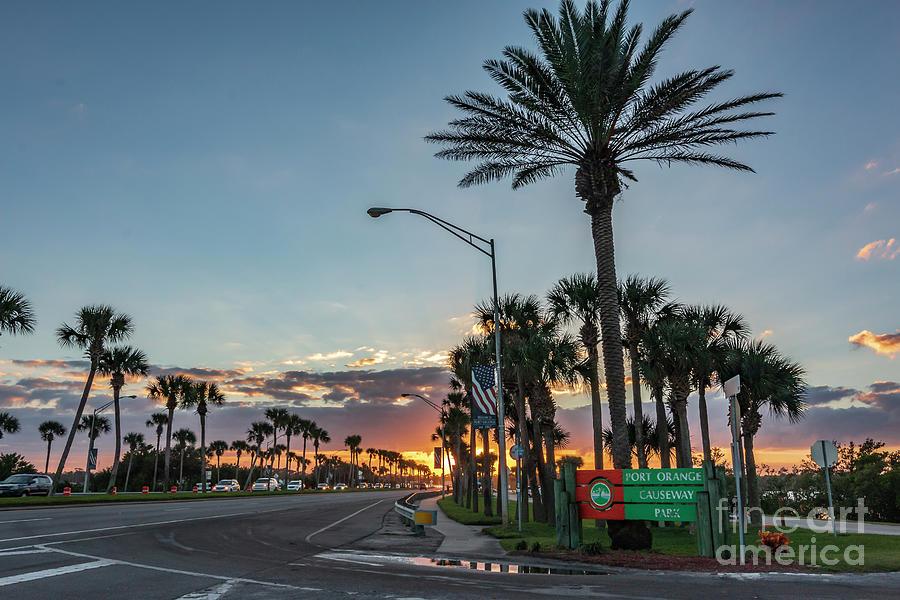 Welcome To Port Orange Florida Photograph