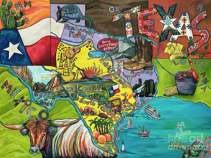 Welcome To Texas Ya'll by Patti Schermerhorn