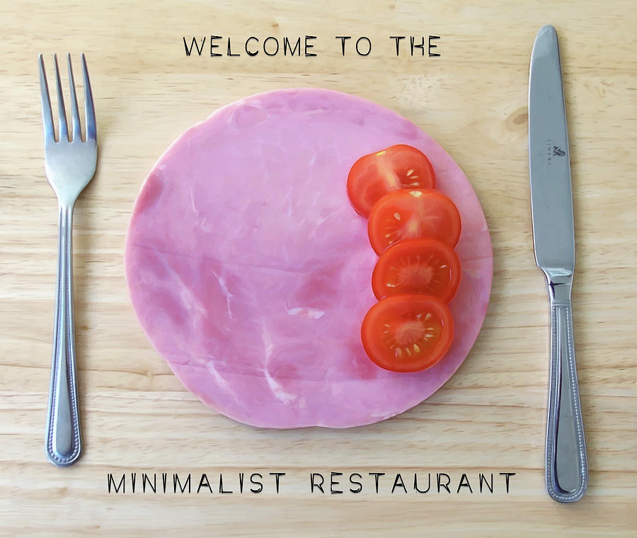 Welcome To The Minimalist Restaurant by ISAW Company