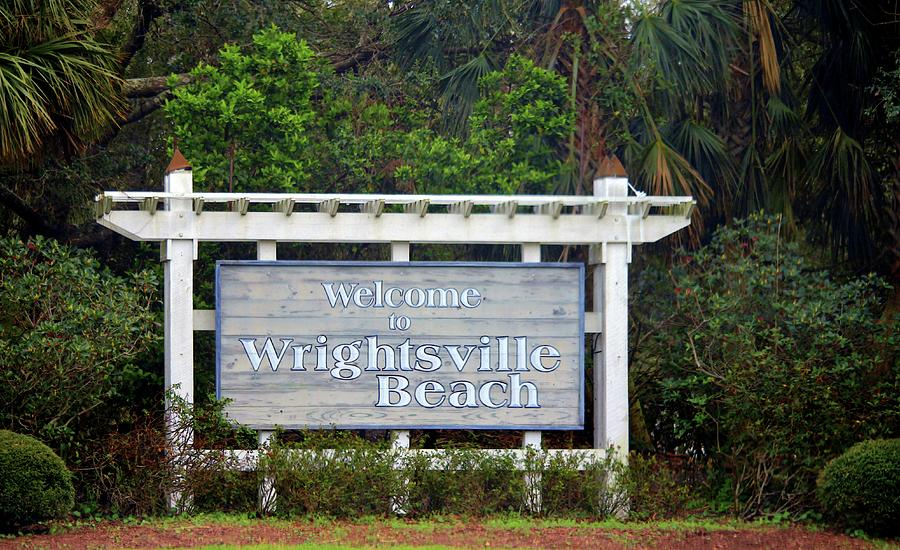 Welcome To Wrightsville Beach by Cynthia Guinn