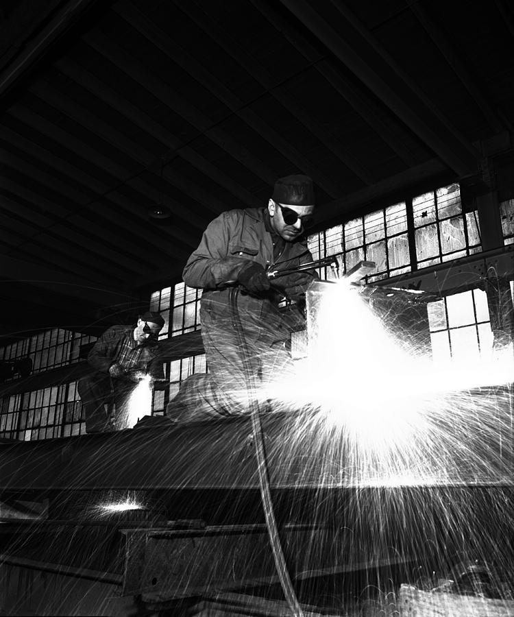 Welder Photograph by Robert Natkin