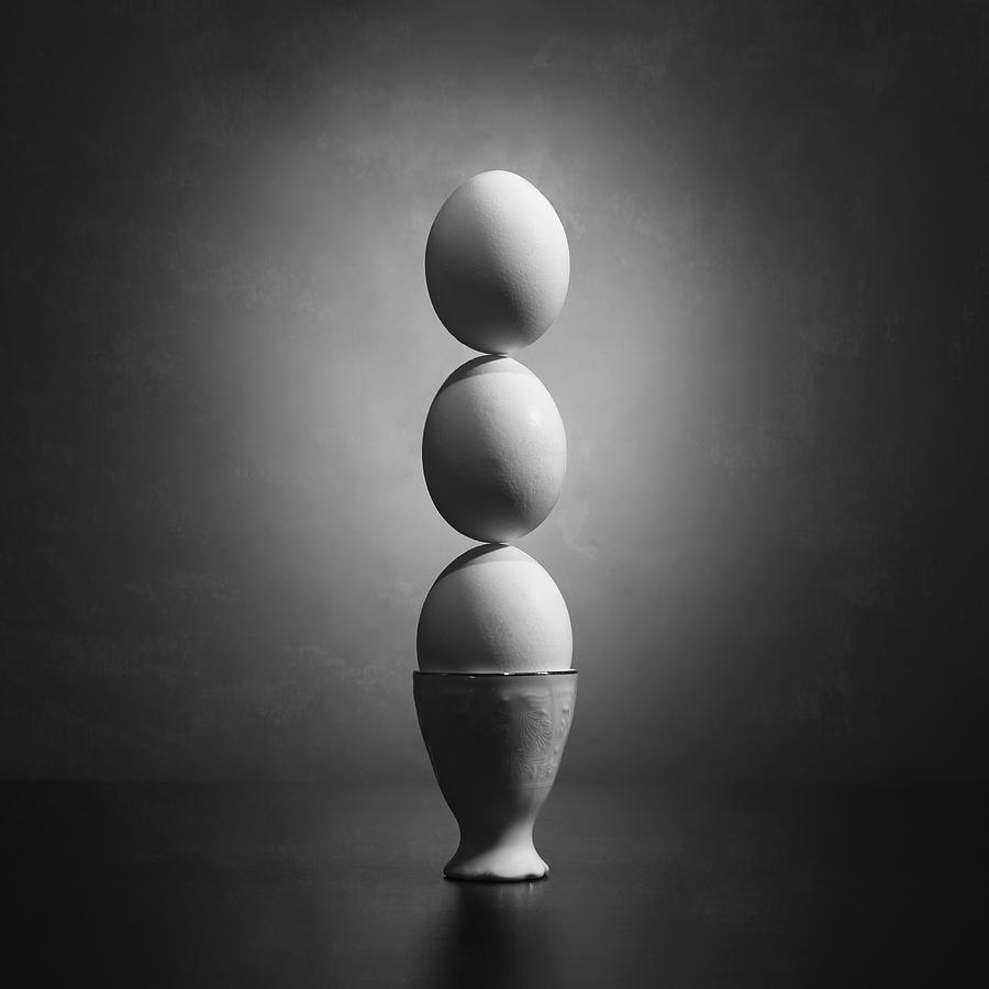 Eggs Photograph - Well Balanced Diet 2 by Victoria Ivanova